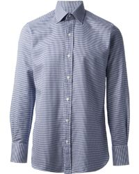 Tom Ford Printed Button Down Shirt - Lyst