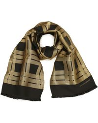 Alexander McQueen Check Jacquard Scarf - Lyst