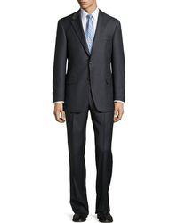 Hickey Freeman Lindsey Two-Piece Medium Stripe Suit - Lyst