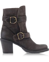 Fiorentini + Baker Ankle Boots gray - Lyst