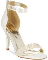 Rampage Forzmin Two-Piece Dress Sandals multicolor - Lyst