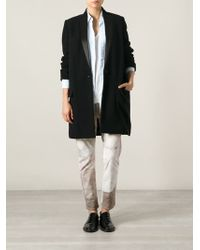 Isabel Marant Single Breasted Coat - Lyst