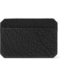 Parabellum - Full-Grain Leather Cardholder - Lyst