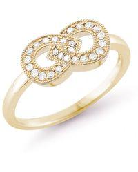 Dana Rebecca - Samantha Lynn Diamond Ring In Yellow Gold - Lyst