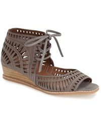 Jeffrey Campbell 'Rodillo' Wedge Sandal - Lyst