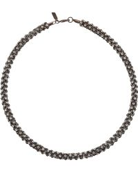 Kenneth Jay Lane Bling Necklace - Lyst