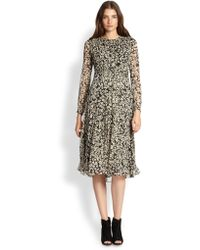 Burberry Brit Tabatha Pleated Dress - Lyst