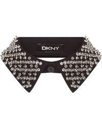 DKNY - Crystal Collar - Lyst