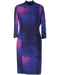 Paul Smith Kneelength Dress - Lyst