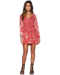 Free People Lucky Loosey Dress - Lyst