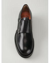 Santoni Monk Shoes - Lyst