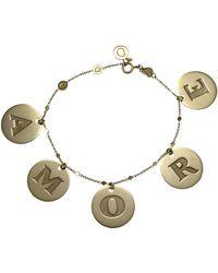 Pasquale Bruni - 18k Amore Charm Bracelet - Lyst