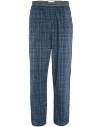 CALVIN KLEIN 205W39NYC - Grey Woven Pyjama Trousers - Lyst