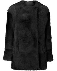 Topshop Toscana Sheepskin Coat by Boutique - Lyst