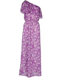 Stefanel Long Dress - Lyst
