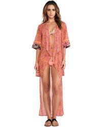 Maaji Pink Kimono - Lyst