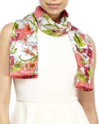 Jones New York - Pebble Beach Silk Scarf - Lyst