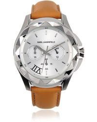 Karl Lagerfeld | Karl 7 Leather Strap | Lyst