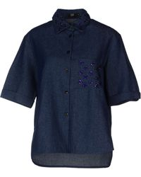 Markus Lupfer Denim Shirt - Lyst