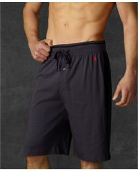 Ralph Lauren Polo Mens Sleep Shorts - Lyst
