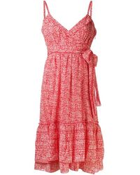 Diane Von Furstenberg Queenie Crinkle Dress - Lyst