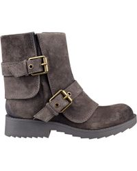 Nine West Anywho Suede Booties - Lyst