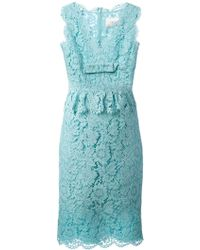 Valentino Sleeveless Lace Dress - Lyst