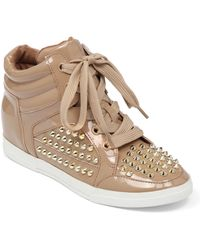 Jessica Simpson - Trebble High-Top Trainer Wedges - Lyst