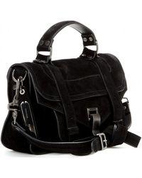 Proenza Schouler Ps1 Tiny Suede Shoulder Bag - Lyst