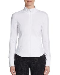 Calvin Klein Performance Illusion Mesh Paneled Active Jacket - Lyst