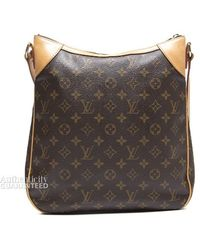 Louis Vuitton Preowned Monogram Canvas Odeon Mm Bag - Lyst