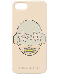 Stella McCartney Superstellaheroes Butter Iphone 5 Cover beige - Lyst