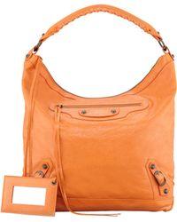 Balenciaga Classic Day Bag Tangerine - Lyst