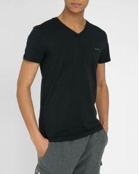 Diesel Basic Black Michael T-Shirt black - Lyst