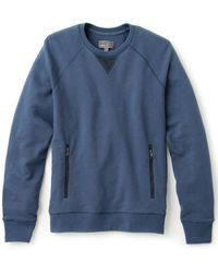Vince French Terry Pullover - Lyst