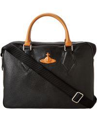 Vivienne Westwood Orange  Briefcase - Lyst