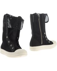 DRKSHDW by Rick Owens Ankle Boots - Lyst