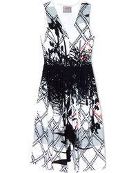 Preen Palm Sleeveless Dress - Lyst