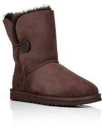 Ugg Suede Bailey Button Boots - Lyst