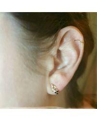 Pamela Love Archer Stud Earrings - Lyst