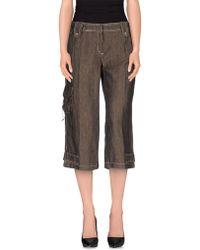 Trussardi - 3/4-length Trousers - Lyst