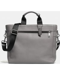 Coach Utility Tote In Sport Calf Leather - Lyst