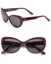 Thierry Mugler Acetate Catseye Sunglasses - Lyst