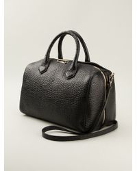 Burberry Black Bowler Bag - Lyst