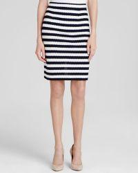 Diane von Furstenberg Skirt - Walda Stripe - Lyst