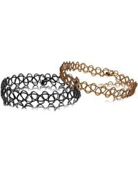 LAC - Two Pack Tattoo Wristbands - Lyst