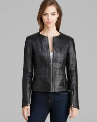 Dawn Levy - New York Jacket Quilted Leather - Lyst