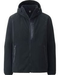 Uniqlo Men Wind Proof Fleece Full-zip Hoodie - Lyst