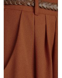 Hot & Delicious - Breathtaking Tiger Lilies Skirt In Orange - Lyst