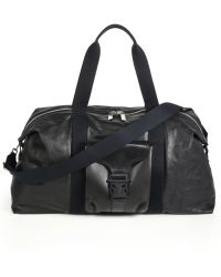 Alexander McQueen Leather Gym Bag - Lyst